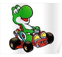 Yoshi karting Poster