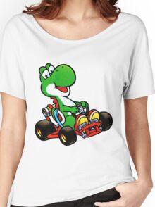 Yoshi karting Women's Relaxed Fit T-Shirt