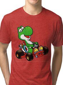 Yoshi karting Tri-blend T-Shirt