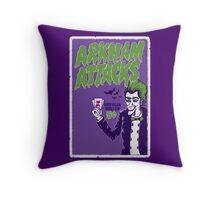 Joker Attacks Throw Pillow