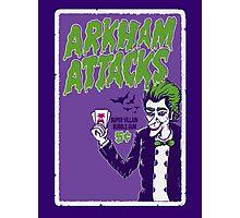 Joker Attacks Photographic Print