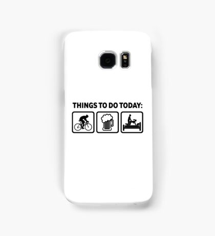 Funny Cycling Things To Do Today Samsung Galaxy Case/Skin