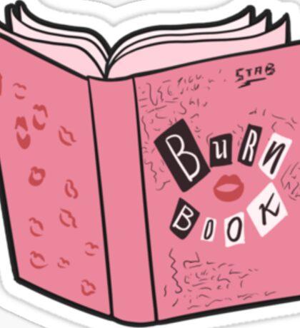 Mean Girls - Burn Book Sticker