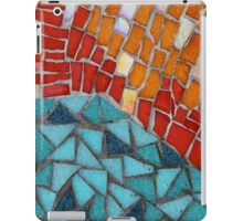 Red or Aqua - JUSTART © iPad Case/Skin