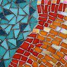 Red or Aqua - JUSTART © by JUSTART