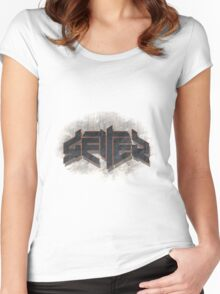 Getter Logo Women's Fitted Scoop T-Shirt