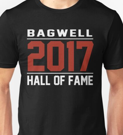 Official Bagwell Hall of Fame 2017 Unisex T-Shirt
