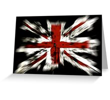 United Kingdom Flag Greeting Card