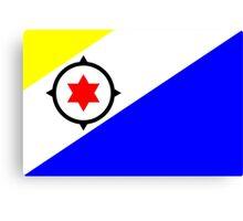 Bonaire Flag Canvas Print