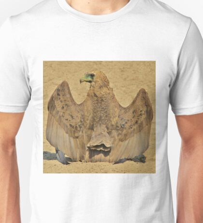 Bateleur Eagle - Wings of Beauty from Africa Unisex T-Shirt