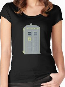 MY MASTERS TARDIS 1 Women's Fitted Scoop T-Shirt