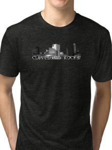 Cleveland Rocks! Tri-blend T-Shirt