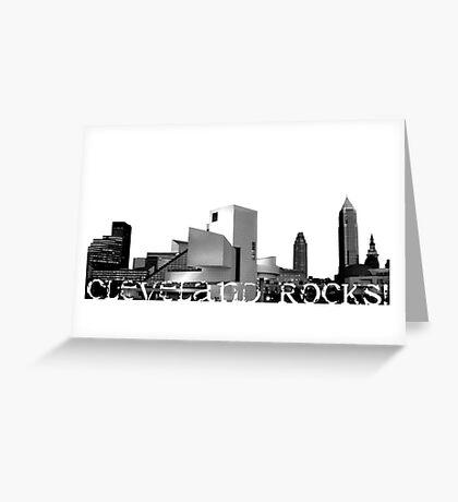 Cleveland Rocks! Greeting Card