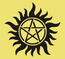 Supernatural inspired Anti-Possession Symbol Tattoo One Piece - Short Sleeve