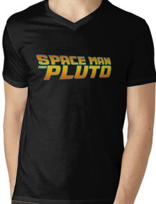 Space Man From Pluto Mens V-Neck T-Shirt