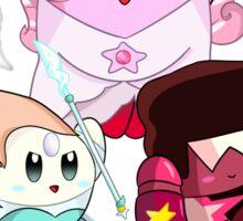 Kirby Universe - The Crystal Kirbies Sticker
