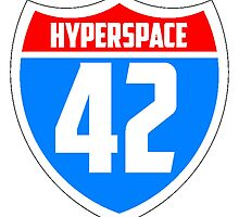 Hyperspace 42 by Zaxley-Nash