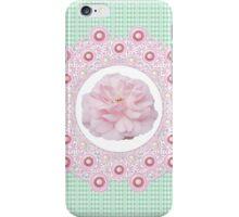 Laces & Rhinestones - Soft Pink iPhone Case/Skin