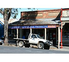 Country transport, Castlemaine Victoria Photographic Print