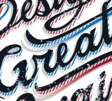 Make Design Great Again Sticker