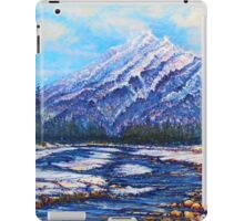 Majestic Peak - futurism iPad Case/Skin