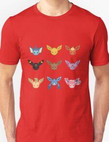 Eevee and Eeveelutions Unisex T-Shirt