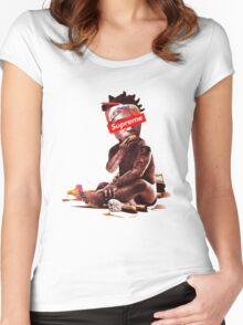 supreme baby kodak  Women's Fitted Scoop T-Shirt