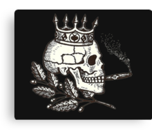 Russian Skull Canvas Print
