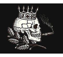 Russian Skull Photographic Print