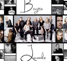 Brigitte Lacombe Collage Sticker
