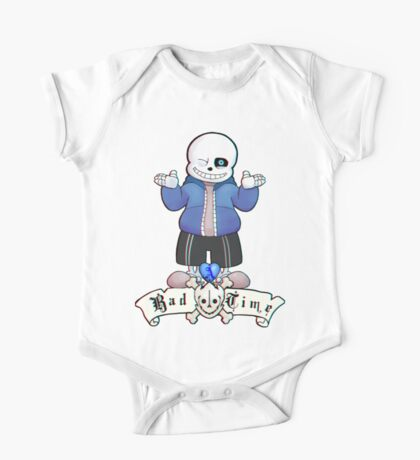 Bad Time Skeleton One Piece - Short Sleeve