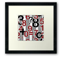 """""""School fun"""" Design for students and kids. Framed Print"""
