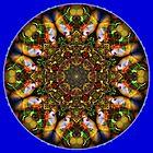 Vibrant Moss Mandala by haymelter