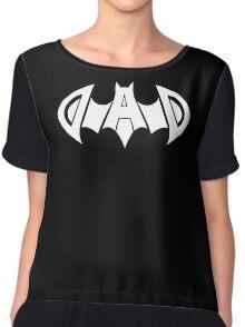 Dad Daddy Super Hero Batman Chiffon Top