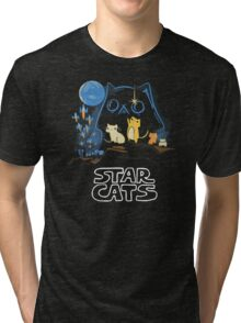 Star Wars Cats Tri-blend T-Shirt