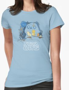 Star Wars Cats Womens Fitted T-Shirt