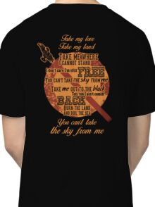 Firefly Ballad of Serenity - Can't Take the Sky Classic T-Shirt