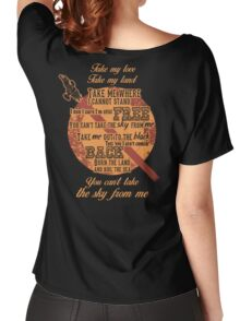 Firefly Ballad of Serenity - Can't Take the Sky Women's Relaxed Fit T-Shirt