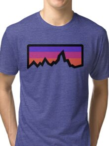 abstract mountain light Tri-blend T-Shirt