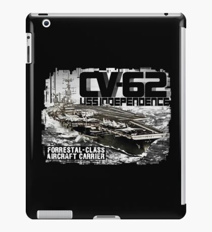Aircraft carrier Independence iPad Case/Skin