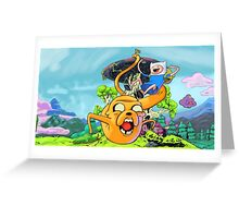 Adventure Time - Time for Fun Greeting Card