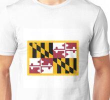 Maryland Flag Unisex T-Shirt