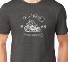 Flat Track Grand Nationals - white Unisex T-Shirt