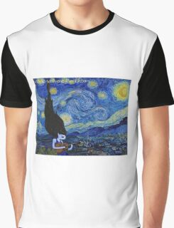 Marceline's Starry Night Graphic T-Shirt