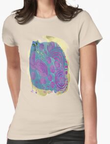 Cool Cats abstract cat gifts and apparel Womens Fitted T-Shirt