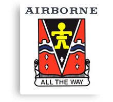509th Airborne Canvas Print