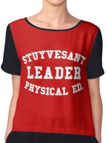 STUYVESANT LEADER PHYSICAL ED. Chiffon Top