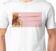Smoking laser Unisex T-Shirt