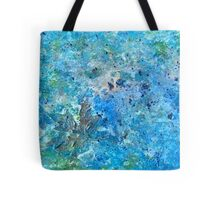 Seattle Seahawks Inspired 'Rain Painting' Tote Bag