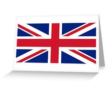 United Kingdom Flag #2 Greeting Card